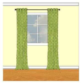 Standard curtain sizes