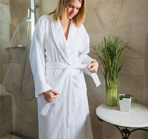 Terry Toweling Dressing Gown