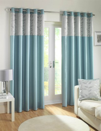 Duck Egg Blue Curtains High Living