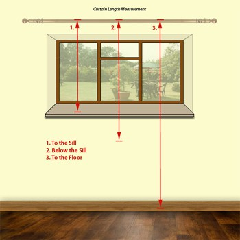 How To Measure for Curtain
