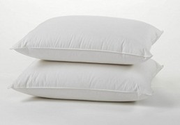 Luxury Duck Feather Down Pillows Pair
