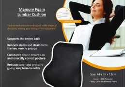 memory foam seat