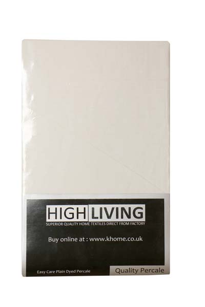 Poly Cotton Percale Flat Sheets