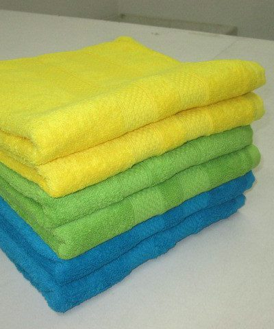 Plain Dyed Bathsheets