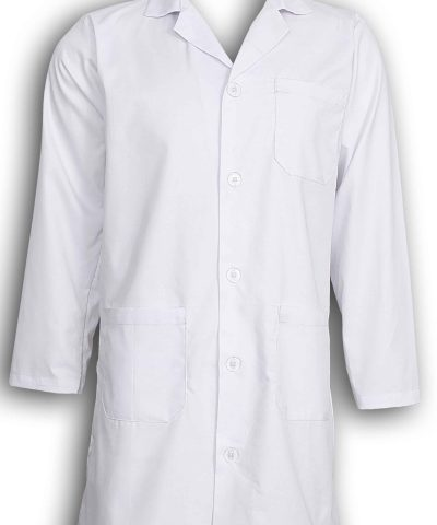 Unisex White Lab Coat Laboratory Coat Warehouse Coat Doctor's Coat Food Coat