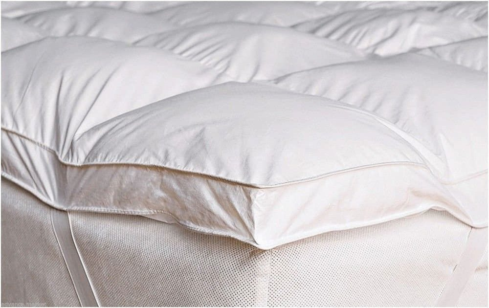 Luxury 2 Inch Thick Supersoft Heavy Fill Microfibre Mattress Topper