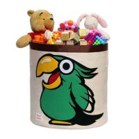 Animal Zoo Toys Storage Bin Organizer Kids baby Bedroom Owl Hippo Turtle Camel