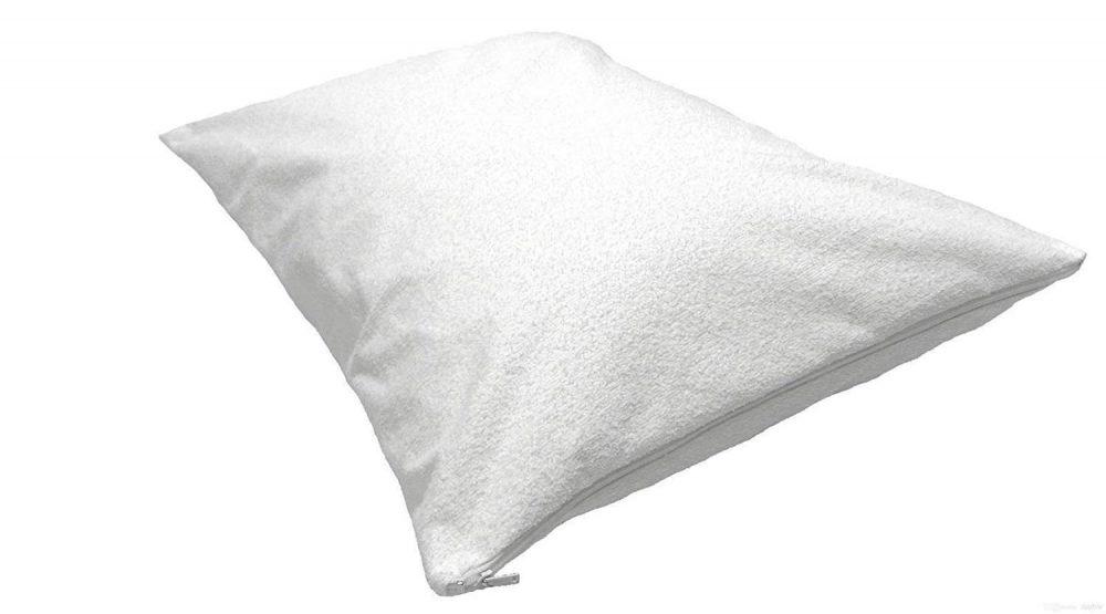 Zipped Terry Waterproof Pillow Protectors