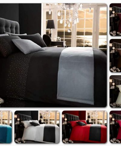 5pc Bed in a Bag Duvet Quilt Cover Complete Bedroom Bedding Set Double King Size