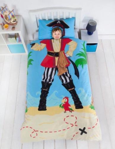 Kids Children Boys & Girls Single Bed Duvet Quilt Cover & Pillow Case Set
