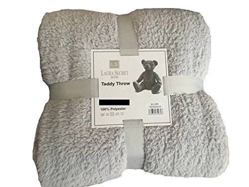 Fleece Throw Blanket Teddy Bear Large Soft Sherpa Luxury Couch Bed Double King