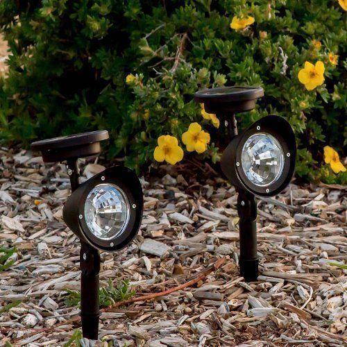 2 4 6 Pack Solar Led Lights Garden Spot Solar Light Outdoor Garden Path light