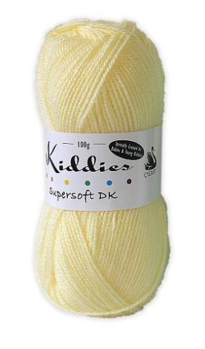 Cygnet Kiddies Supersoft Baby DK Double Knit Knitting Wool Yarn 100g x 5 balls