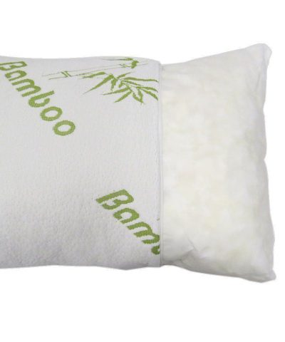 Luxury Bamboo Memory Foam Pillow, Anti-Bacterial Premium Support Pillow