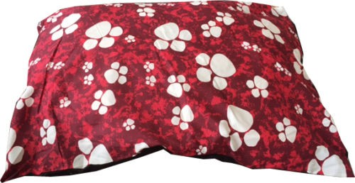 LARGE SOFT PET DOG CAT BED with ZIPPED WASHABLE REMOVABLE COVER