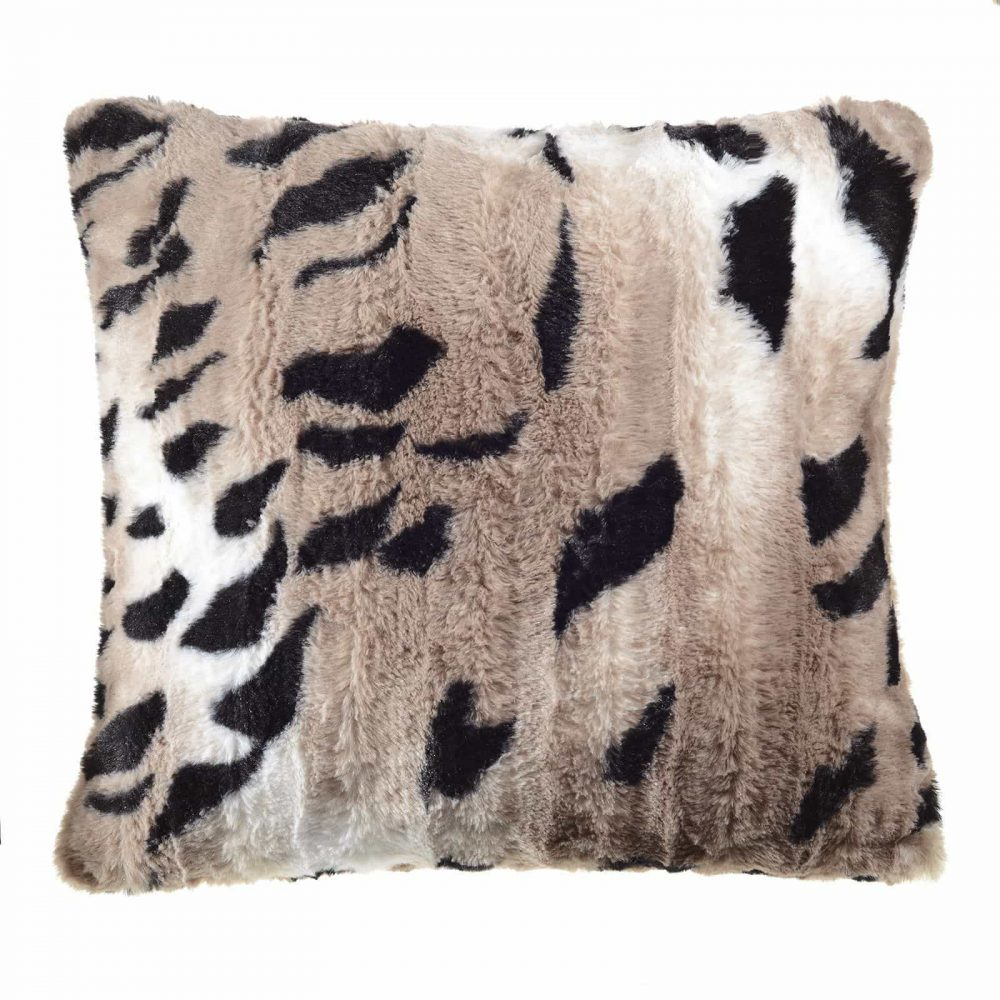 Faux Fur Rabbit Throws / Cushion Covers Soft & Comfy Material CHRISTMAS GIFT