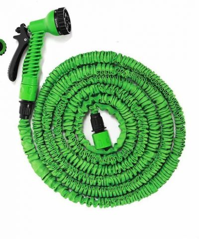 Expandable Flexible Garden Water Hose Pipe Spray Gun Pants Car Wash 50ft 100 ft