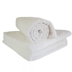 EXTRA LARGE WHITE BATH TOWELS
