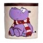 Hippo-Purple