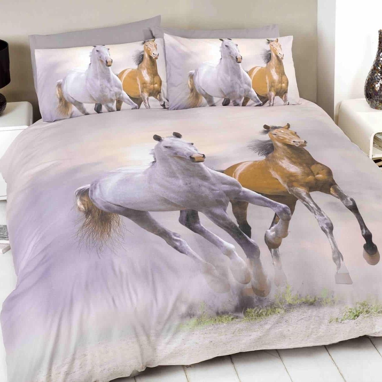 Duvet Cover Sets 3d Animal Print Bedding Pillow Cases King
