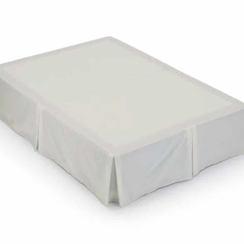 Luxury Plain Dyed Pleated Poly Cotton Platform Base