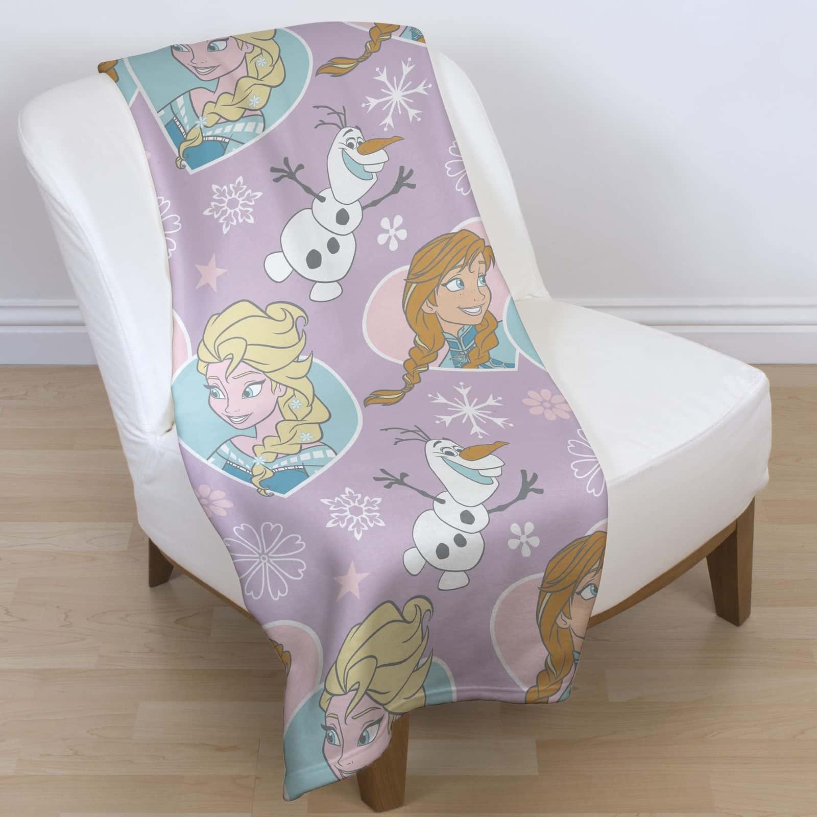 Childrens Character Fleece Blankets Kids Bedroom Gift Boys
