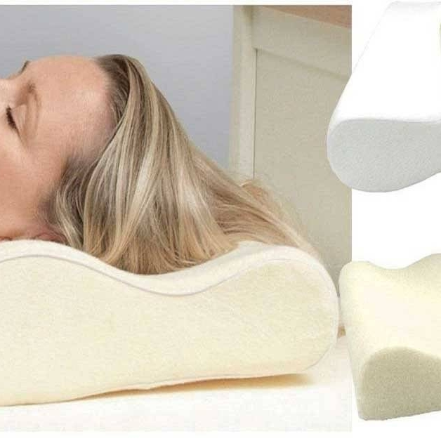 Orthopaedic Contour Memory Foam Pillow Firm Head Neck Back