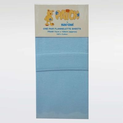 Baby Bedding100% Brushed Cotton Flannelette Pram Crib Moses Basket Flat Sheets