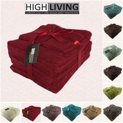 Luxury 10 Piece Towel Bale Set