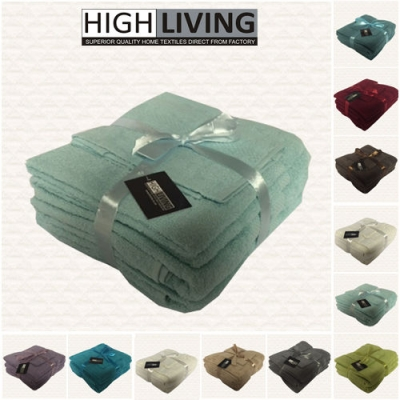 Luxury 6 Piece Towel Bale Set